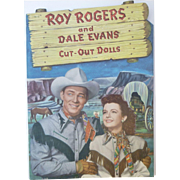 Roy Rogers And Dale Evans 1950 Paper Dolls Uncut