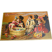 Raphael Tuck Halloween Postcard