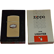 Texaco Gas And Oil Zippo Lighter In Original Box