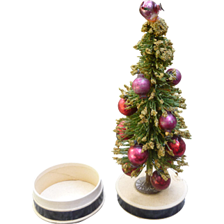 Christmas Tree Candy Container