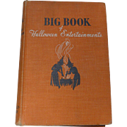 1944 HB Book:  Big Book Of Halloween Entertainments