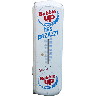 Bubble UP Soda Advertising Thermometer