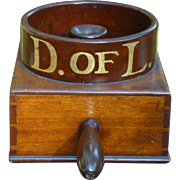 Antique Walnut Ballot Box - Daughters Of Liberty