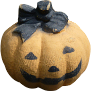 Halloween Pumpkin Candy Container