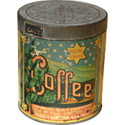 Chase & Sanborn Seal Brand Coffee Can Montreal