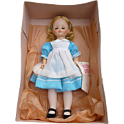 "NOS 12"" Madame Alexander HP Alice Doll"