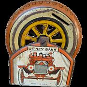 Tin Litho Mechanical Jitney Bank