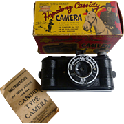 Hopalong Cassidy Camera With Original Box