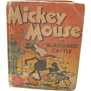 Disney Mickey Mouse in Blaggard Castle Big Little Children's Book