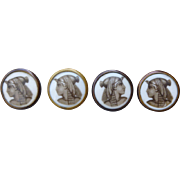 P&H Paris Egyptian Revival Buttons