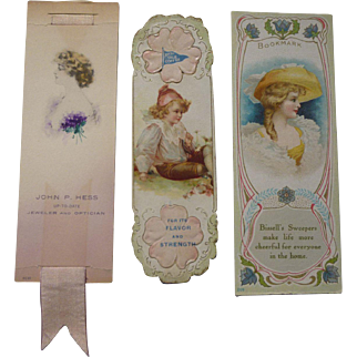 Victorian Bookmark Trade Cards