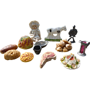 Dollhouse Food And Miniature Accessories