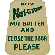 Nut Grove Nut Butter Door Push
