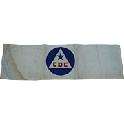 WWII Civil Defense Arm Band