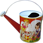 Child's Tin Watering Can - Children Gardening