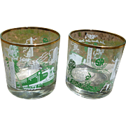 Southern Railway Railroad Glasses