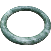 Gorgeous Chinese Apple Green Jade Bangle Bracelet