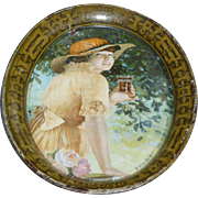 1916 Coca Cola Tip Tray