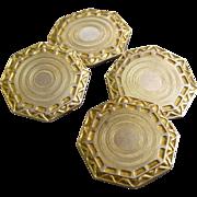 10K Gold Cufflinks