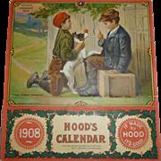 Hood's Sarsaparilla 1908 Calendar