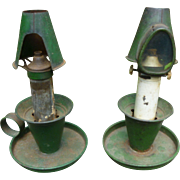 Antique End Of Day Kerosene Lanterns