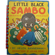 Julian Wehr Animated Little Black Sambo Children's Book