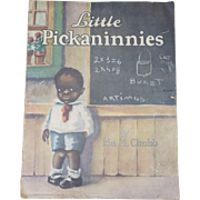 Black Americana Little Pickaninnies Children's Book