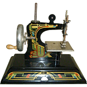 German Casige Child's Sewing Machine