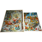 Two German Advent Calendars