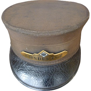 Erie Railroad RR Conductor Hat