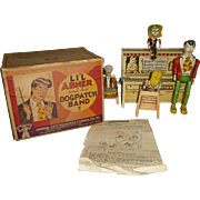 Unique Art LI'l Abner And His Dogpatch Band Wind Up Toy