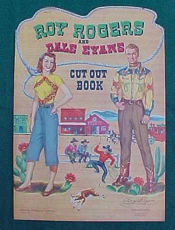 Roy Rogers And Dale Evans Uncut Paper Dolls