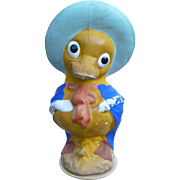 Compostiotion Duck Easter Figure Made In Japan