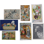 Interesting Selection Of Trade Cards