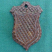 Folk Art Chip Carved Match Safe