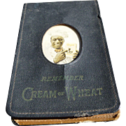 Black Americana Cream Of Wheat Salesman's Memo Pad