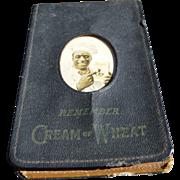 Black Americana Cream Of Wheat Salesman's Memo Pad