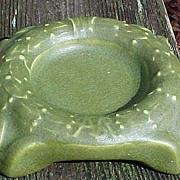 Matte Glaze Rookwood Advertising Ashtray