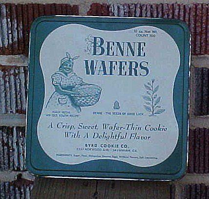 Vintage Black Americana Benne Wafers Tin from amazingamericana on Ruby ...
