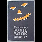 1922 Dennison Halloween Bogie Book