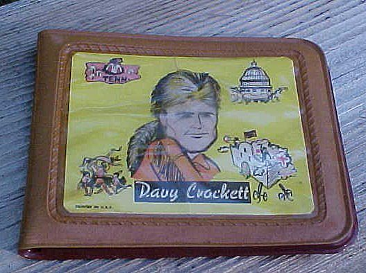 Vintage Davy Crockett Child's Wallet