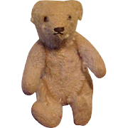 Sweet White Mohair Miniature Teddy Bear