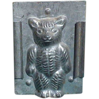 Antique Teddy Bear Chocolate Mold