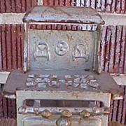 Miniature Cast Iron Doll House Royal Stove