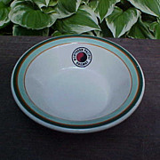 Northern Pacific Railway Railroad Fruit Bowl