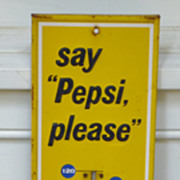 Pepsi Advertising Thermometer