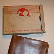 Vintage Coca Cola Wallet W/Original Box