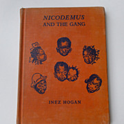 Black Americana Nicodemus And The Gang First Ed. Children's Book