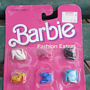 Barbie Doll Shoes In Original Package MOC