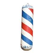 Unique Metal Barber Pole